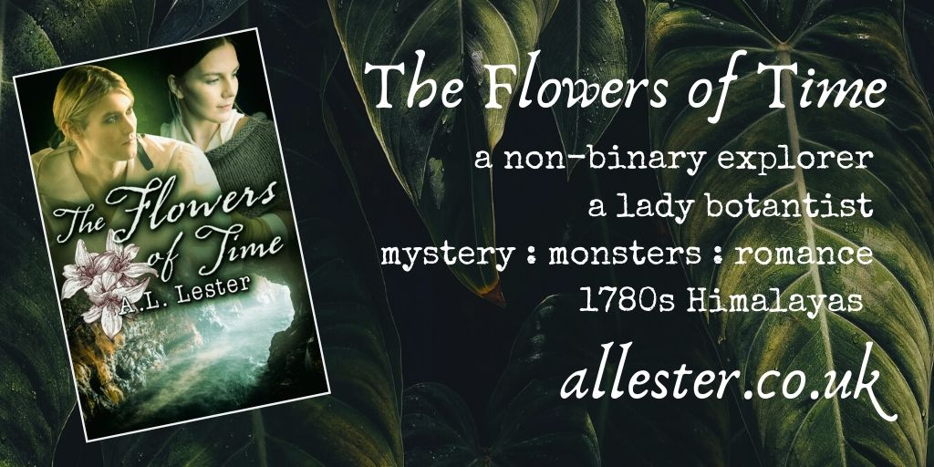 The Flowers of Time by A. L. Lester